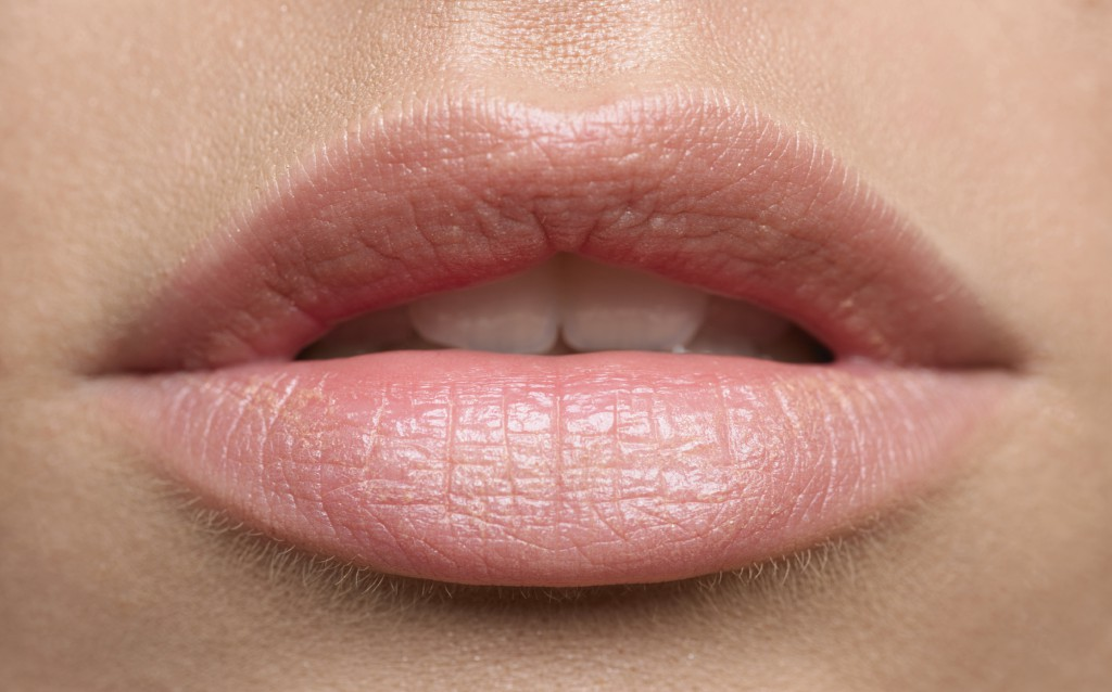Lips that received cosmetic services in Geelong